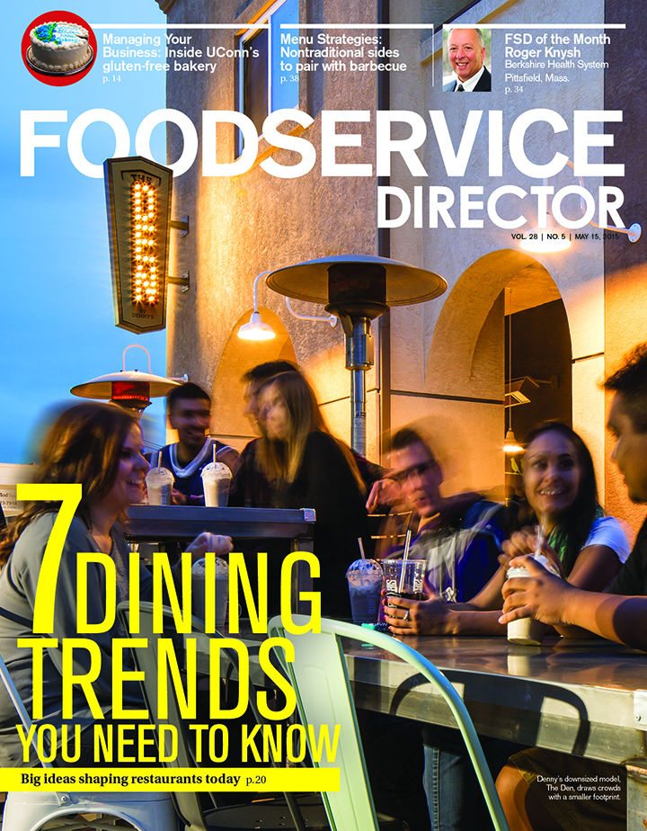 FoodService Director Magazine FoodService Director | May 2015 Issue