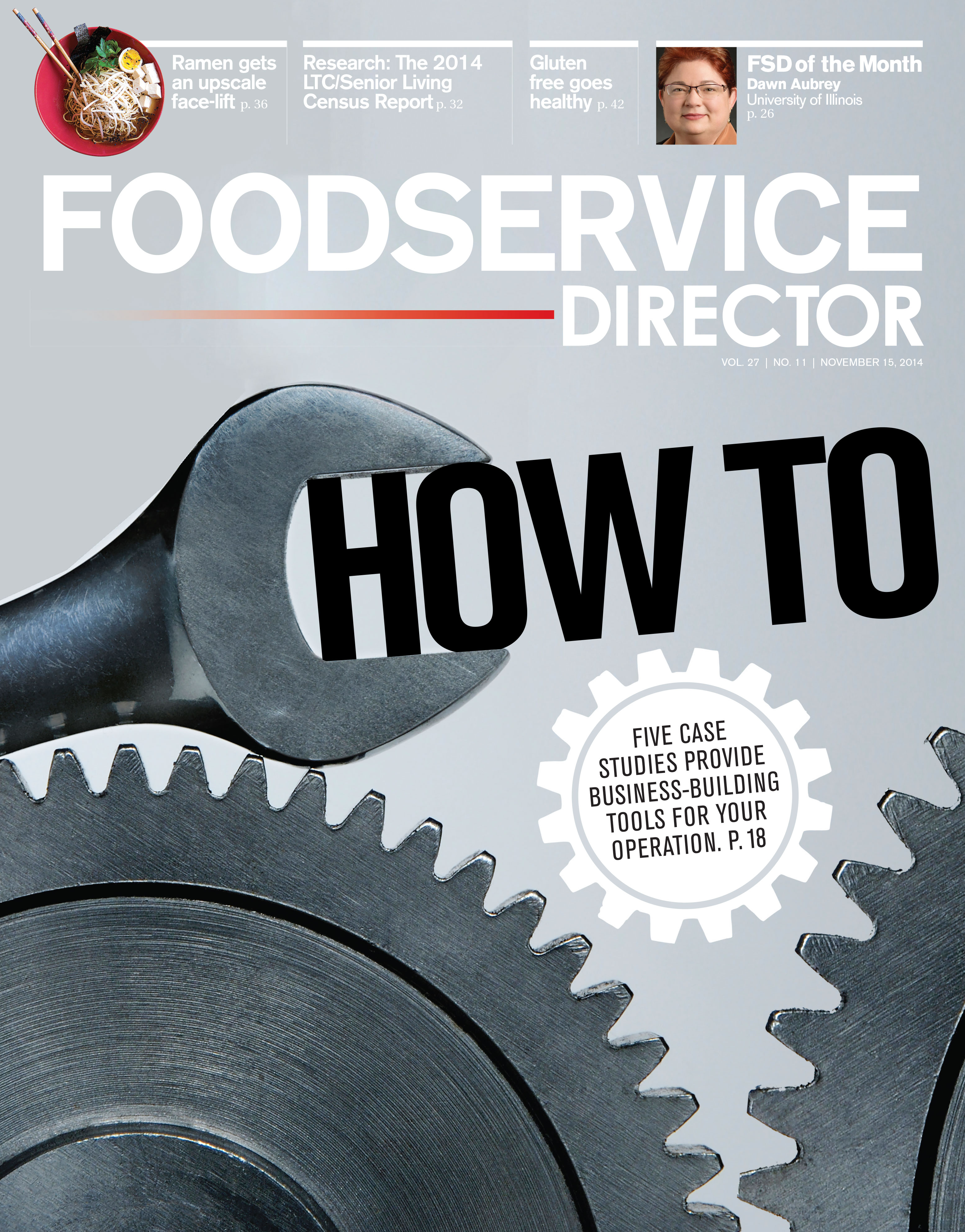 FoodService Director Magazine FoodService Director | November 2014 Issue