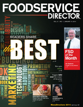 FoodService Director Magazine FoodService Director   January 2014 Issue