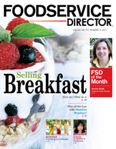 FoodService Director Magazine FoodService Director   October 2013 Issue
