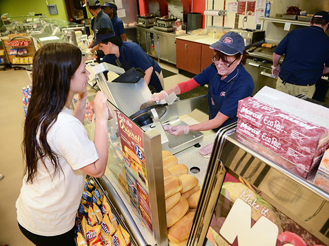 Jersey Mike's at Monmouth University