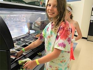 coal creek student salad bar