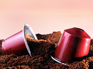 coffee grounds cups