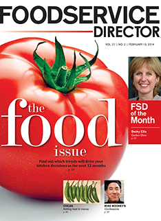 FoodService Director Magazine FoodService Director   February 2014 Issue