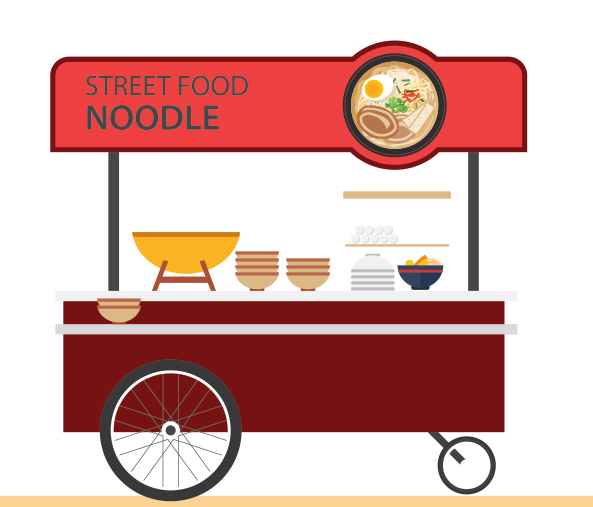food cart graphic