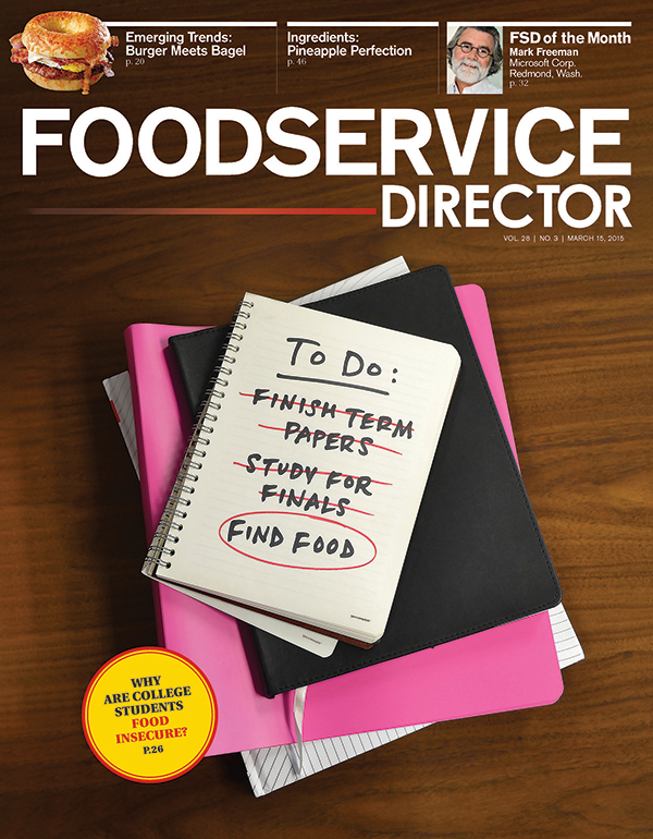 FoodService Director Magazine FoodService Director | March 2015 Issue