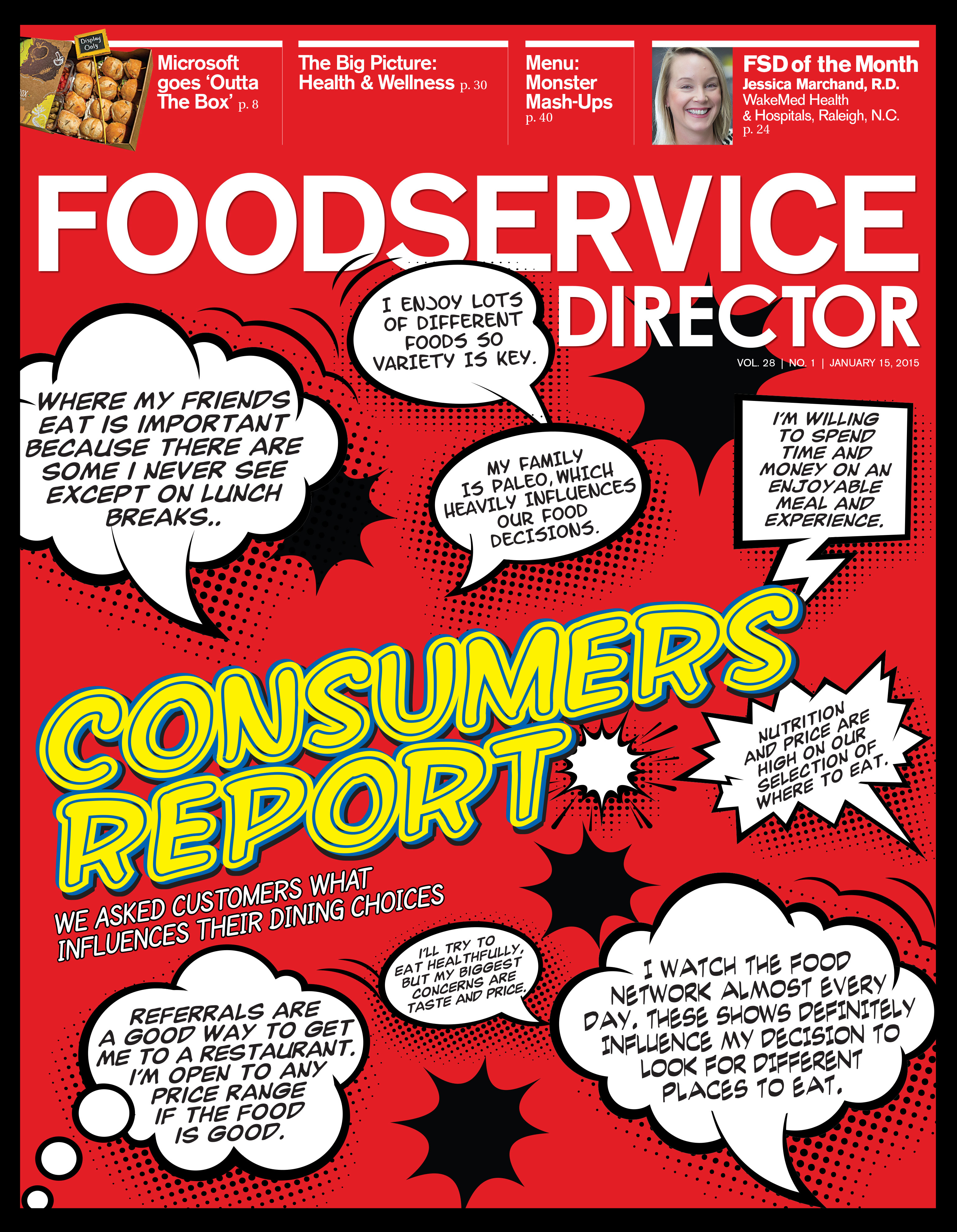 FoodService Director Magazine FoodService Director | January 2015 Issue