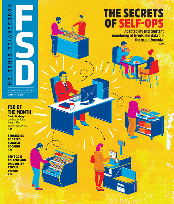 FoodService Director Magazine FoodService Director | July 2015 Issue