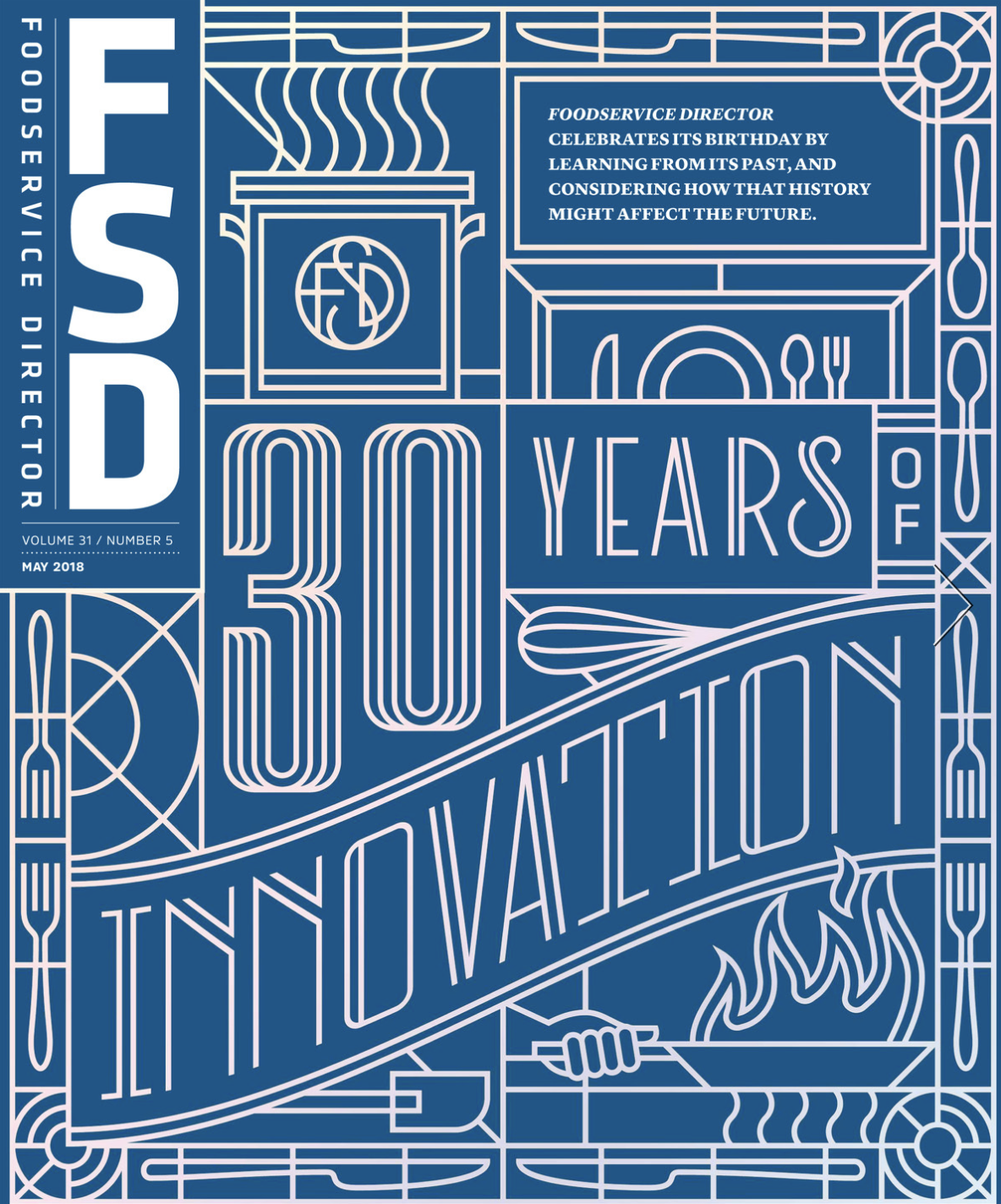 FoodService Director Magazine Foodservice Director | May 2018 Issue
