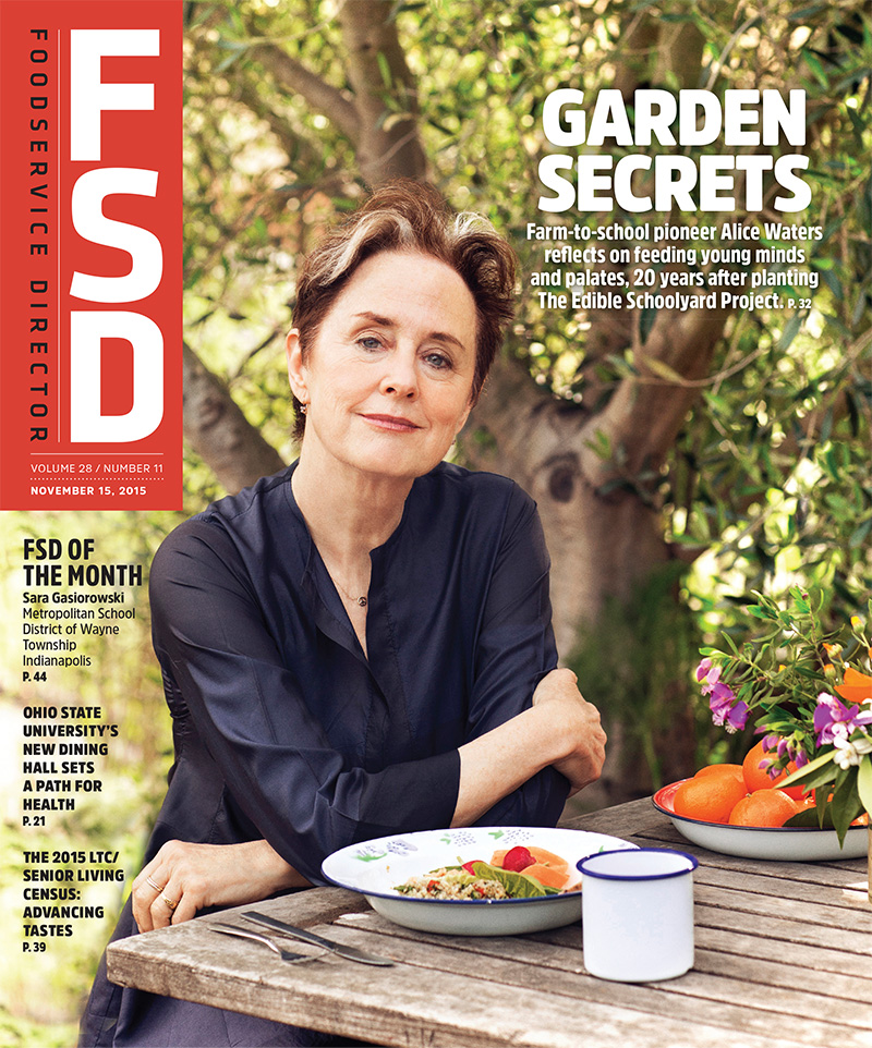 FoodService Director Magazine FoodService Director | November 2015 Issue