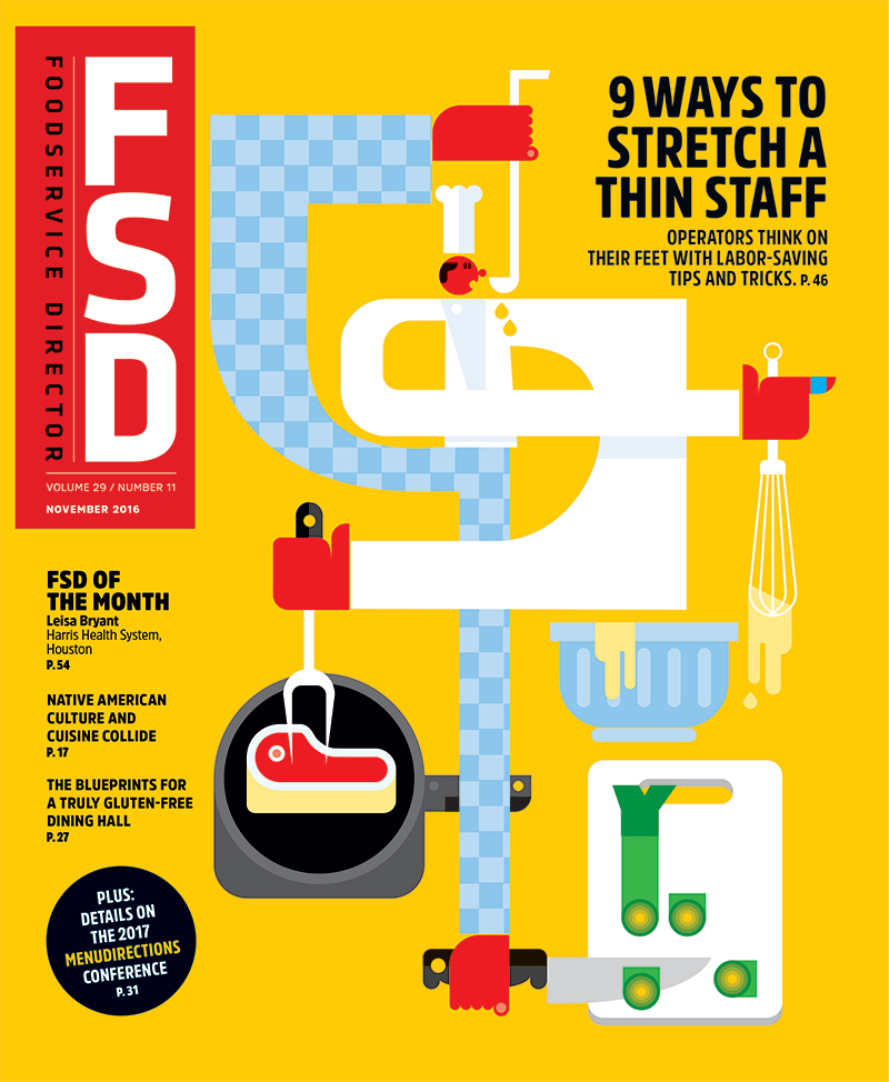 FoodService Director Magazine Foodservice Director | November 2016 Issue