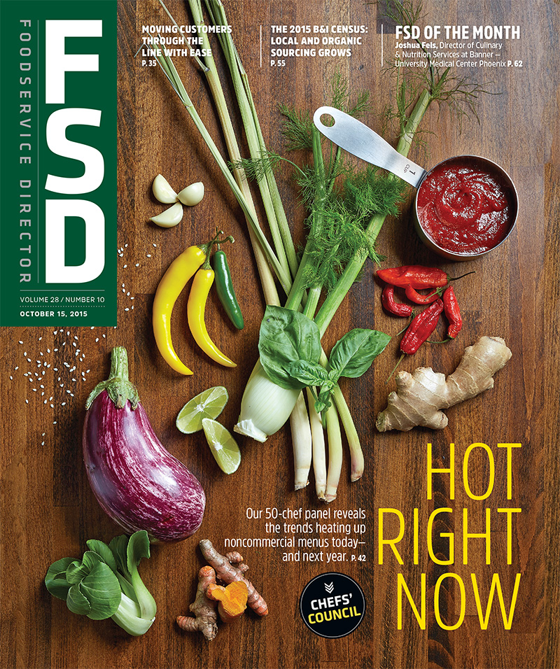 FoodService Director Magazine FoodService Director | October 2015 Issue