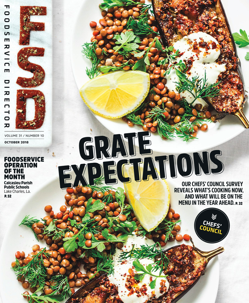FoodService Director Magazine Foodservice Director | October 2018 Issue