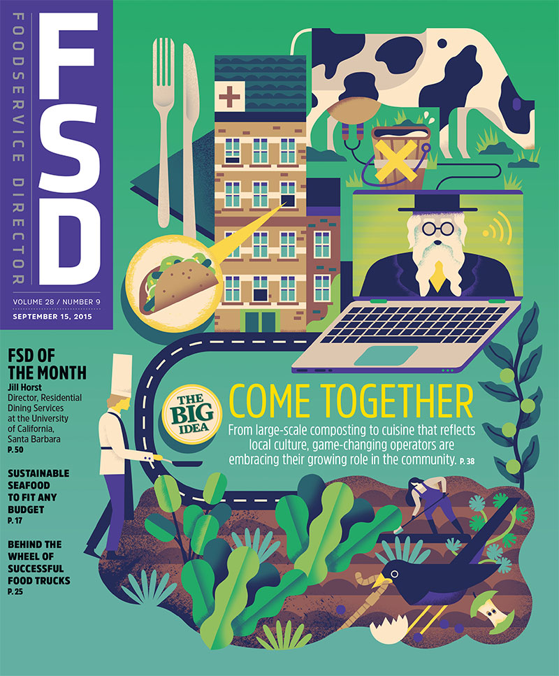 FoodService Director Magazine FoodService Director | September 2015 Issue