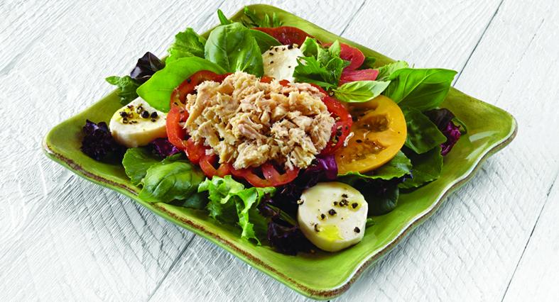Heirloom Tomato and Tuna Salad