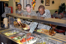 US army foodservice program