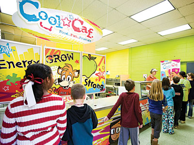 Aramark - Cool*Caf- Better nutrition and more fun to elementary school cafeterias