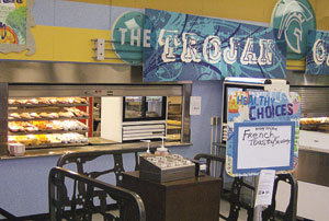 Ingleside Middle School foodservice