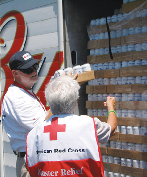 Disaster planning Red Cross