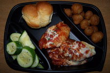 FoodService Director, 2008 Portabillity Study, To-Go Container, Lasagna