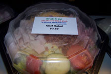 FoodService Director, 2008 Portabillity Study, To-Go Container, salad