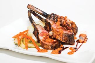 Asian flavors,  Nepalese lamb with coriander, University of Kansas