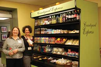 Gritman Medical Center, Anne Arundel Community College, grab and go