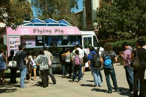 Mobile Meals, UCLA, Flying Pig Food Truck