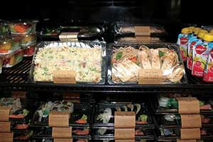 FoodService Director - menu strategies - global salads - dell - Deleware Valley College