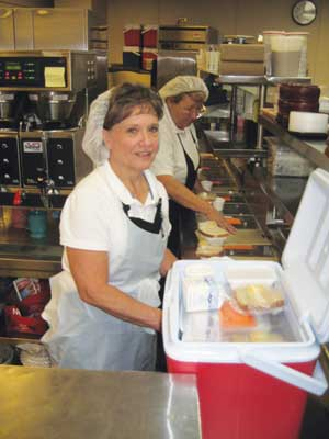 FoodService Director - seniors in need - congregate feeding - meals on wheels