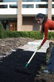 University of Massachusetts, Permaculture Garden, Going Green