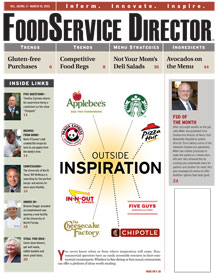 FoodService Director Magazine FoodService Director | March 2013 Issue