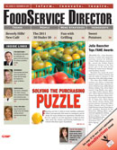 FoodService Director Magazine FoodService Director | December 2011 Issue