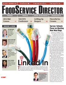 FoodService Director Magazine FoodService Director | September 2012 Issue