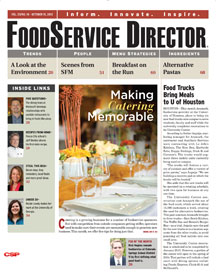 FoodService Director Magazine FoodService Director | October 2012 Issue
