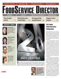 FoodService Director Magazine FoodService Director | June 2012 Issue