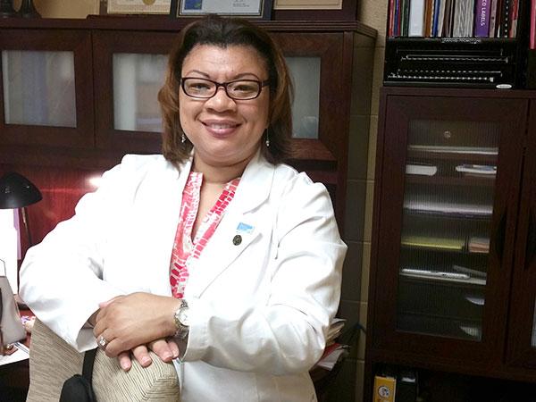 lucretia lab coat