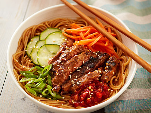 Bulgogi Beef Whole Grain Noodle Bowl