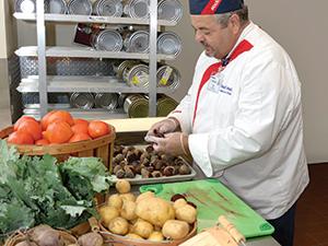 st lukes produce chef