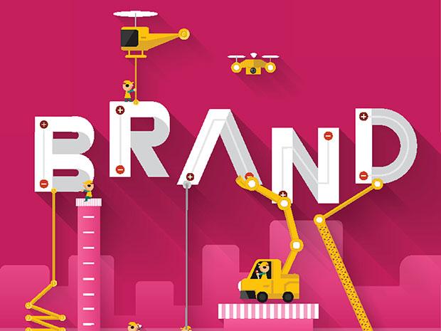 brand construction illustration