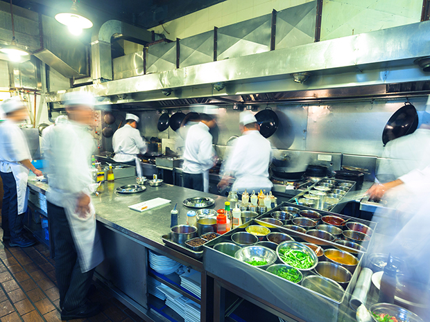 chefs cooking kitchen foodservice