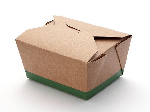 cardboard takeout box