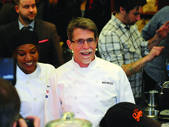 Chef Rick Bayless at University of Pennsylvania
