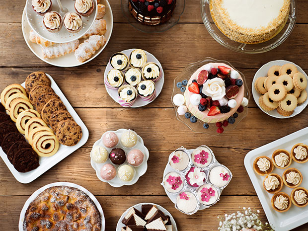 dessert variety