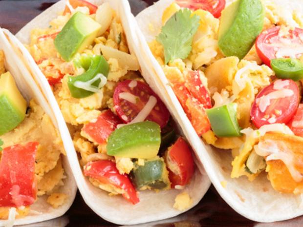 ethnic breakfast tacos