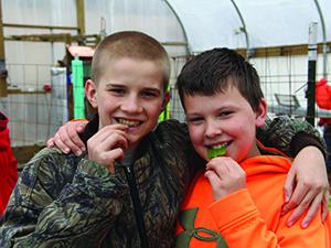 greenhouse-students