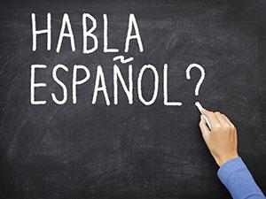 hable espanol spanish