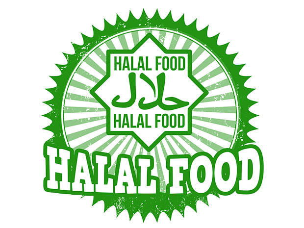 halal food graphic