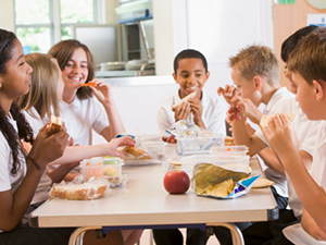 kids cafeteria lunch school foodservice