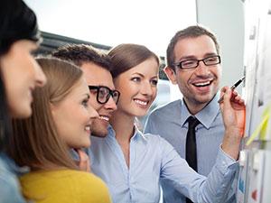 office teamwork business